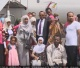 PM Abiy Ahmed with freed Ethiopian prisoners in Egypt